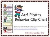 Arr! Pirates Behavior Clip Chart