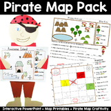 Map Pack: Pirate Theme- Perfect for Talk Like a Pirate Day