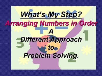 Arranging Numbers in Order #1