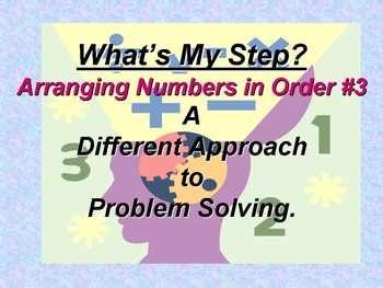 Arranging numbers in order #3
