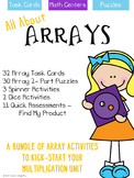 Multiplication - Array Task Cards & Math Centers