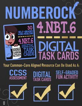 Area Model Division & Other Division Strategies Task Cards for Google  Classroom