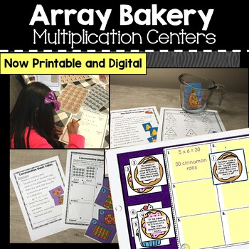 Array Bakery: Multiplication Activities and Room Transformation
