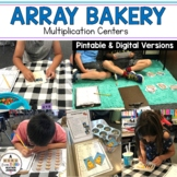 Array Bakery Multiplication Activities and Room Transformation