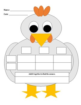 Array/Box method multiplication turkey