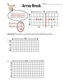 Array Break Multiplication (Worksheet)