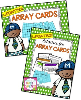 Array Cards + Activities for Array Cards Pack
