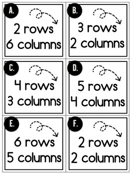 Array Challenges | For Use with Seesaw