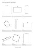 Area and Perimeter Worksheets - Meter, Millimeter, Centime
