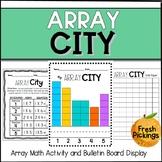 Array City- Math Activity & Bulletin Board Display