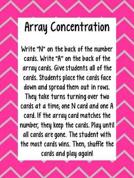 Array Concentration