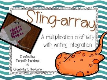 "Array Craftivity ""Sting-array"""