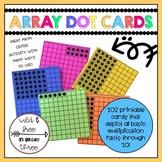 Array Dot Cards - Multiplication Strategy
