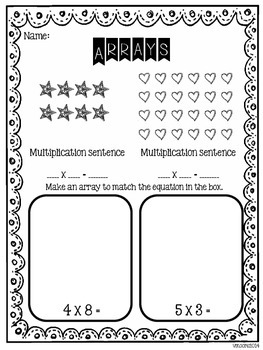 Array Freebie to go with blog post
