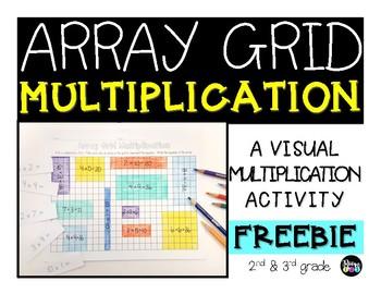 Array Grid Multiplication FREEBIE