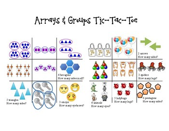 Arrays & Groups Tic-Tac-Toe