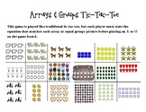 Array & Groups Tic-Tac-Toe