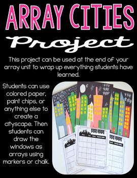 Array Hands-On Activities - 2.OA.4