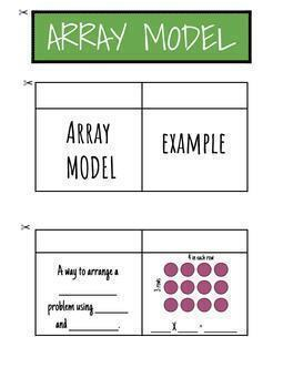 Array Interactive Notebook FREEBIE