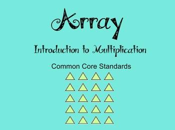 Array Math Bundle - CCSS