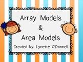 Array Models and Area Models