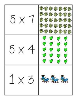Array Multipication Representation Memory Match