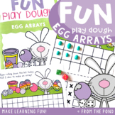 Array Multiplication Activity Mats - Bunny's Eggs