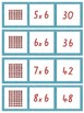 Array Multiplication Matching Cards- 1- 10 Times Tables