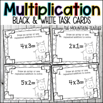 Array/Multiplication Task Cards