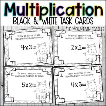 Array/Multiplication Task Cards