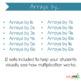 Array Multiplication Task Cards