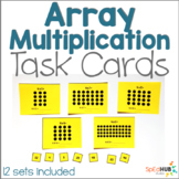 Array Multiplication Task Cards #warmupwithsped2
