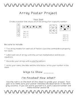 Array Poster Project