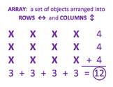 Array Poster (rows and columns)
