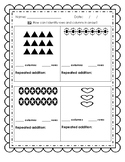 Array Practice - Columns, Rows and Repeated Addition