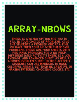 Array Rainbow Grid
