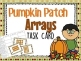 Multiplication Array Word Problems (Fall Themed) TEKS 3.4E