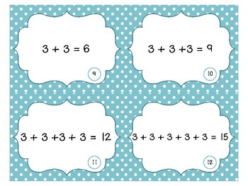 Array Task Cards & Scoot