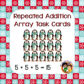 Array Task Cards (Winter)