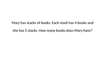 Array Word Problems