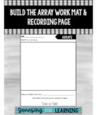 Array Worksheet and Building Mat