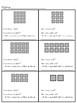 Array Worksheets ( No regrouping )