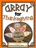 Array for Thanksgiving --- Array Turkey Craftivity