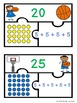 Repeated Addition Array Game Puzzles for a Center Activity 2.OA.4