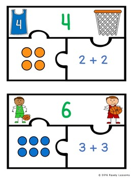Array Repeated Addition Game Puzzles for Repeated Addition Array Activity 2.OA.4