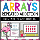 Arrays Repeated Addition Task Cards