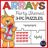 Arrays and Repeated Addition Second Grade Cards - Arrays Multiplication Center