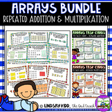 Arrays Activities:  Arrays Task Card BUNDLE