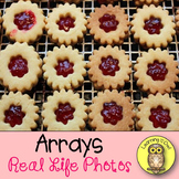 Arrays 52 Real Life Photos, Anchor Chart Posters,Task Card