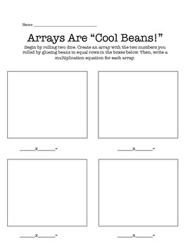 """Arrays Are """"Cool Beans"""""""